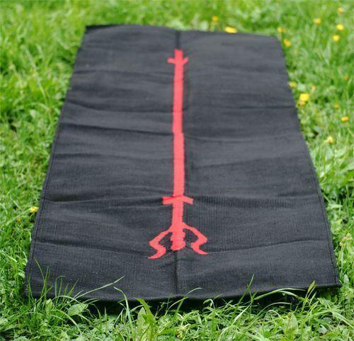 Коврик для йоги хлопковый Shiva