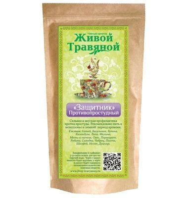 """Чай живой травяной """"Защитник"""" 60 гр"""
